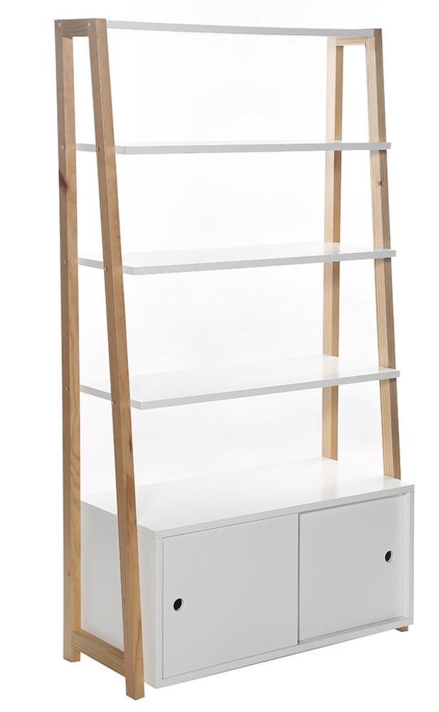 etagere stan blanc brillant. Black Bedroom Furniture Sets. Home Design Ideas