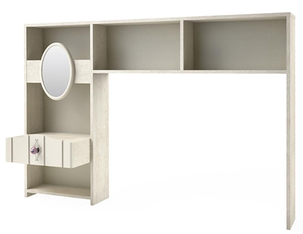 environnement lit lovely chene ivoire. Black Bedroom Furniture Sets. Home Design Ideas