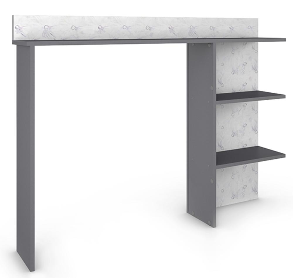 environnement lit glam violet gris. Black Bedroom Furniture Sets. Home Design Ideas