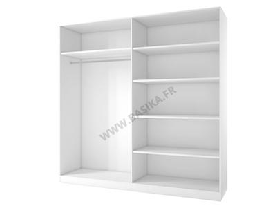 Armoire 4 portes White