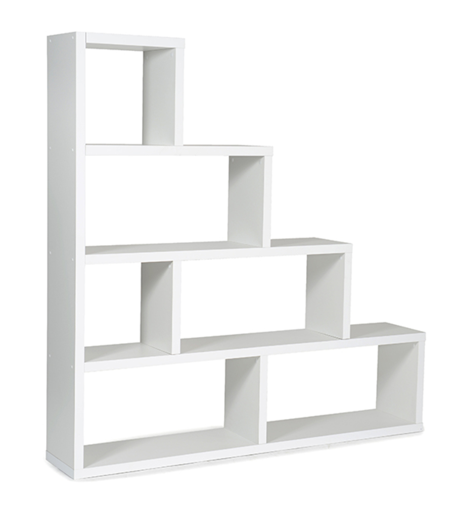 Etag re scala blanc - Etagere escalier blanc ...