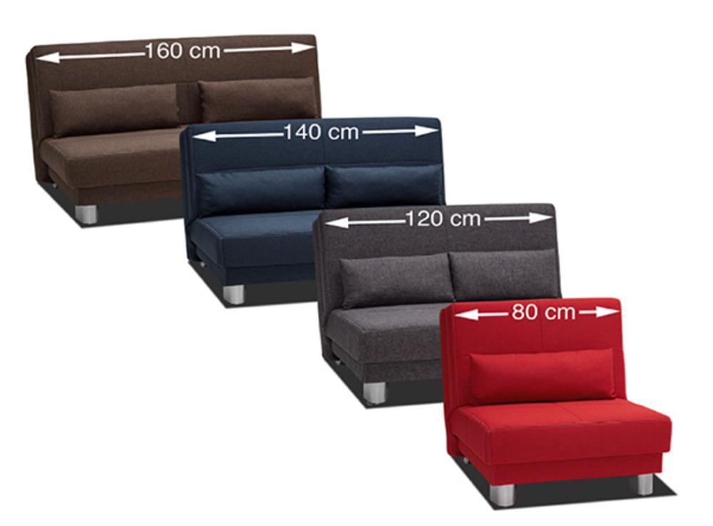 bz en 80 cm enzo rouge. Black Bedroom Furniture Sets. Home Design Ideas