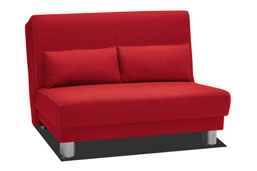 bz en 120 cm enzo rouge. Black Bedroom Furniture Sets. Home Design Ideas