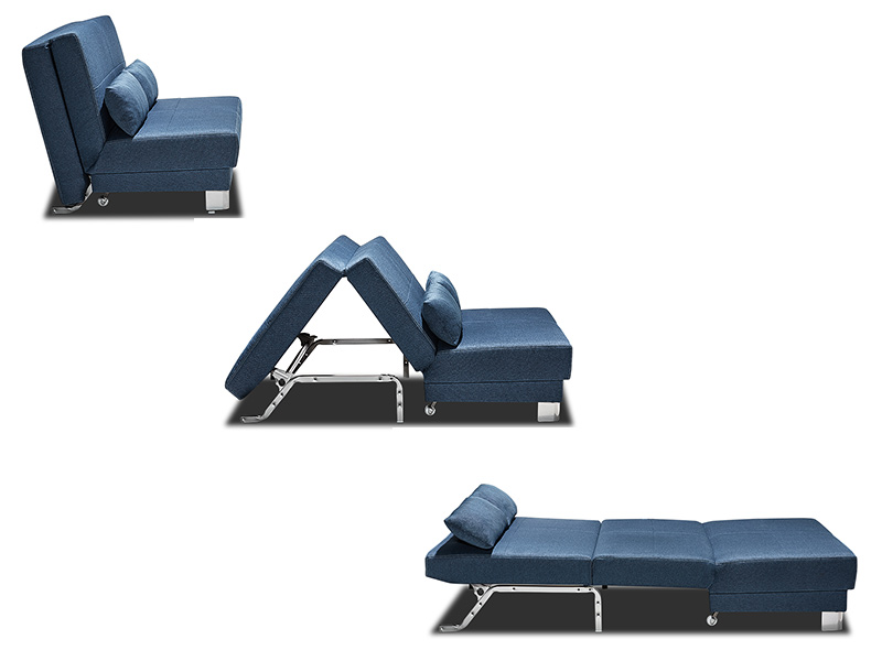 bz en 140 cm enzo bleu. Black Bedroom Furniture Sets. Home Design Ideas
