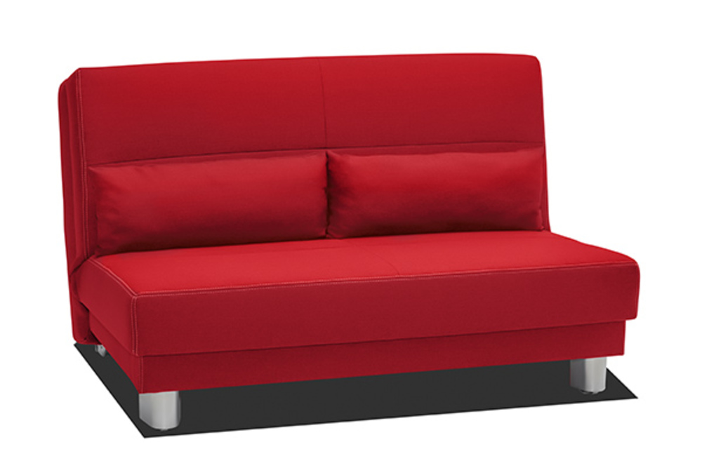 bz en 140 cm enzo rouge. Black Bedroom Furniture Sets. Home Design Ideas