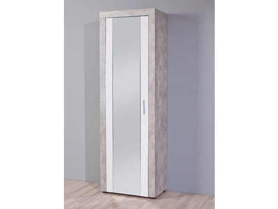 Armoire À chaussure Beton hell