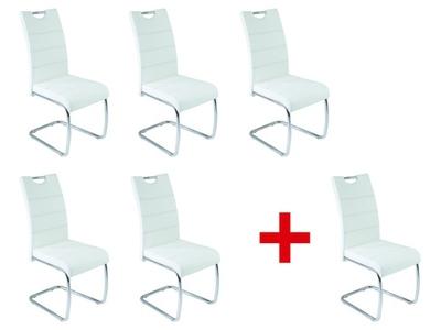 Lot de 5 chaises + 1 offerte Flora