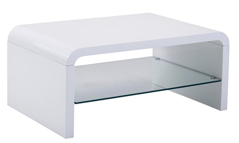 table basse spox blanc brillant. Black Bedroom Furniture Sets. Home Design Ideas