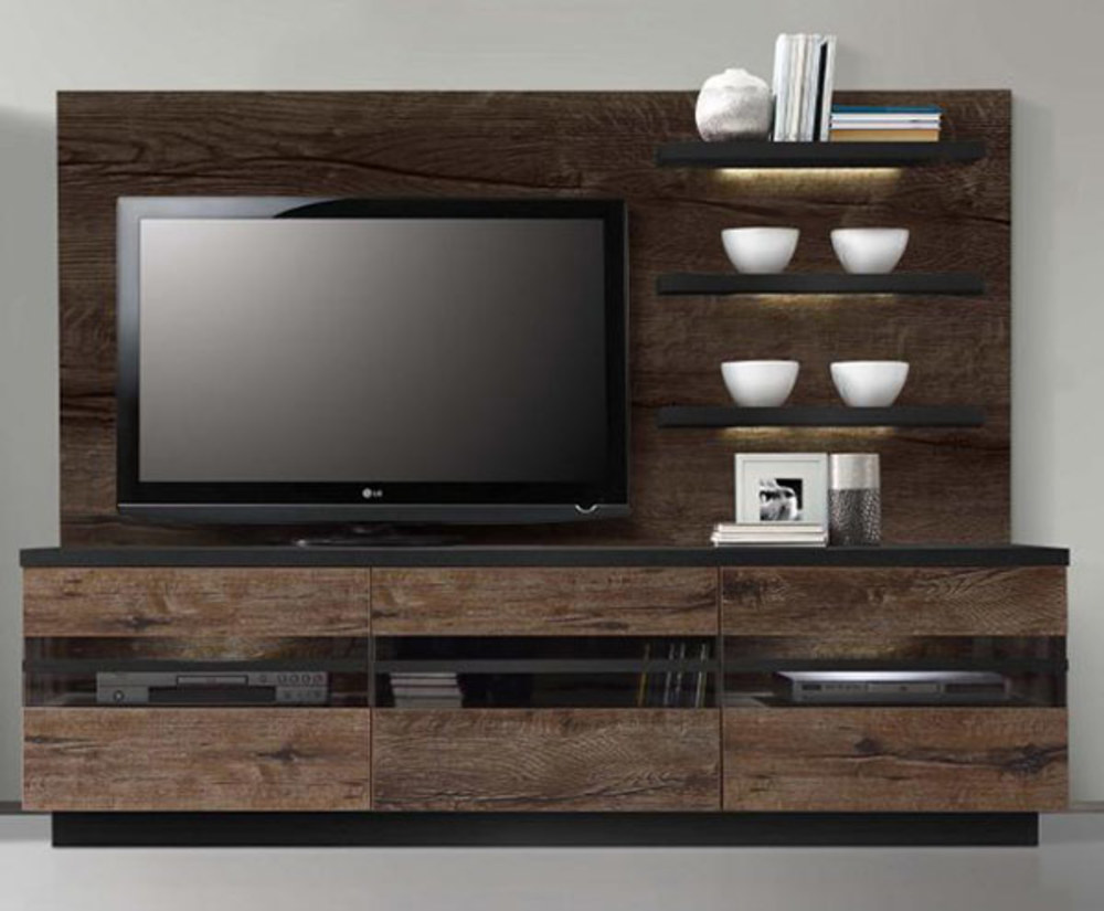 meuble tv hifi integre maison design. Black Bedroom Furniture Sets. Home Design Ideas
