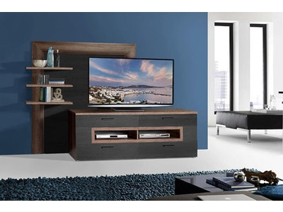 Ensemble meuble tv + etagÈres