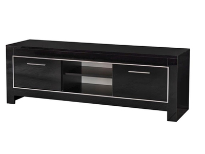 Meubles tv hifi for Meuble tv 90 cm longueur noir