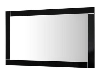 Miroir Modena laquée noire