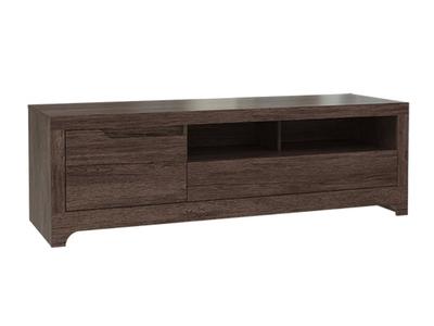 meuble tv amerigo chene fonce. Black Bedroom Furniture Sets. Home Design Ideas