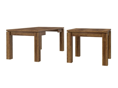 Table de repas carree extensible Abro 3