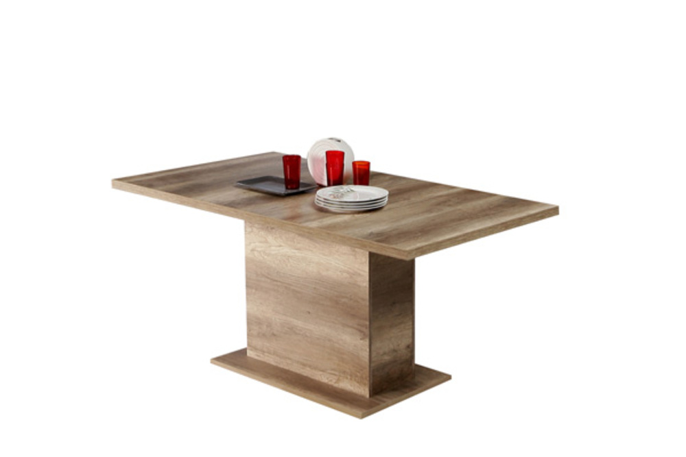 Table de repas rectangulaire extensible portland chene antique for Table a manger 120 cm extensible