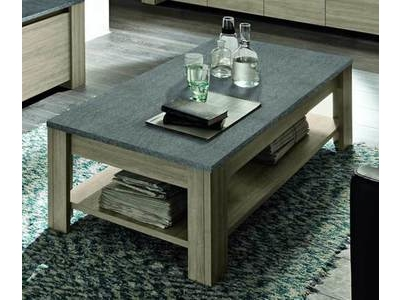 Table basse double plateau Elba