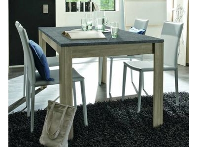 Table de repas avec plateau en ardoise Elba