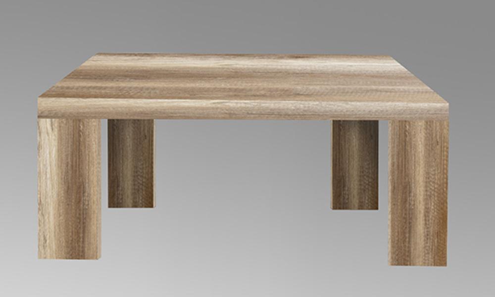 Table basse portland chene antique l 70 x h 35 x p 70 for Meuble 70x70