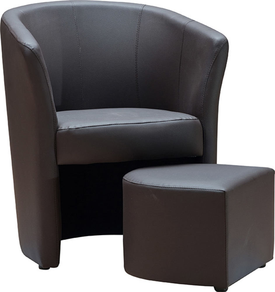 fauteuil pouf djerba chocolat. Black Bedroom Furniture Sets. Home Design Ideas