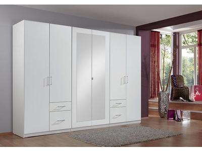 Armoire 6 portes 4 tiroirs