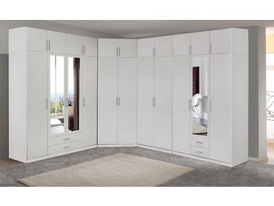 Armoire 2 portes dont 1 miroir  2 tiroirs Spectral