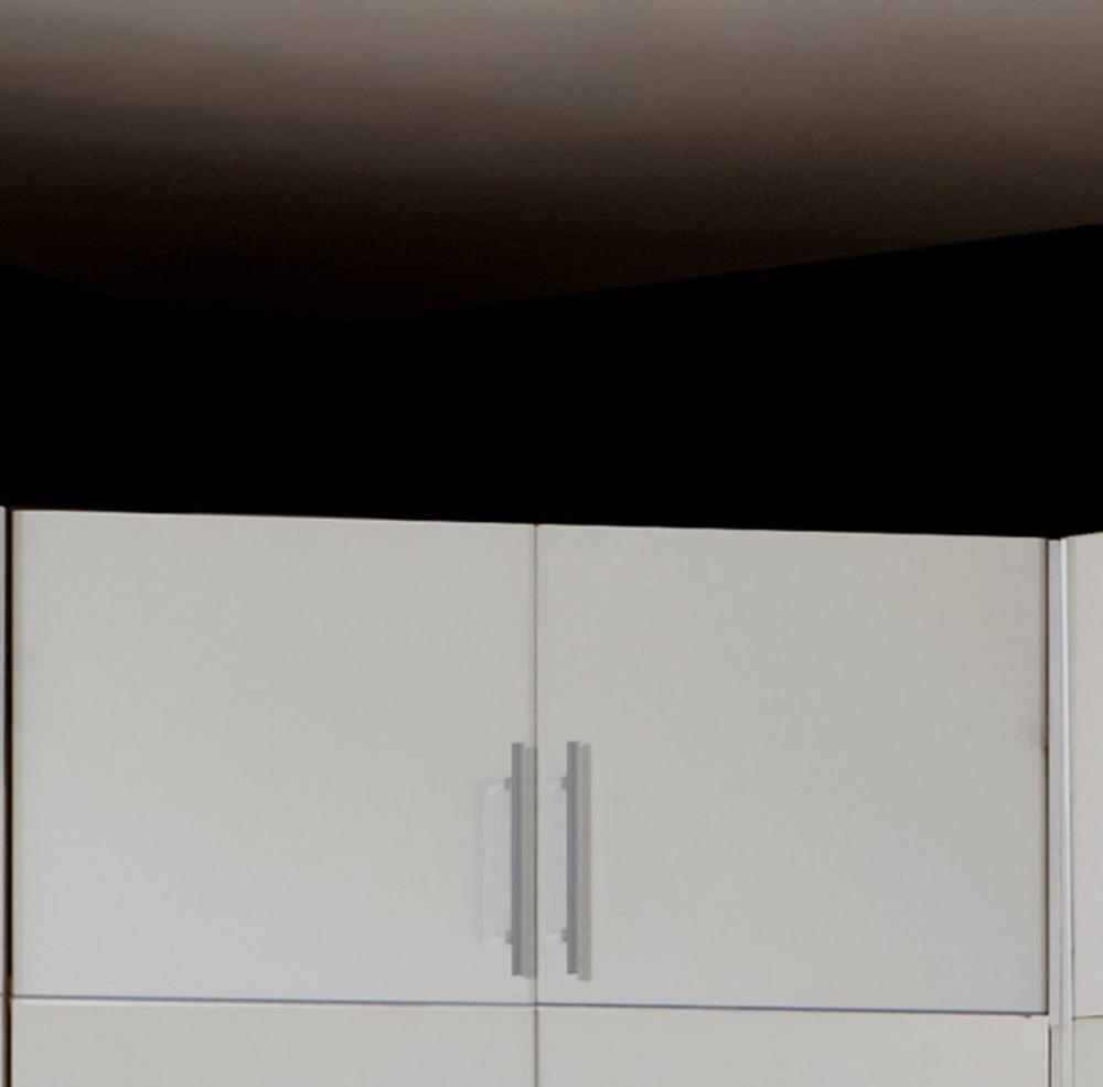 Surmeuble pour armoire d 39 angle spectral blanc for Surmeuble armoire chambre