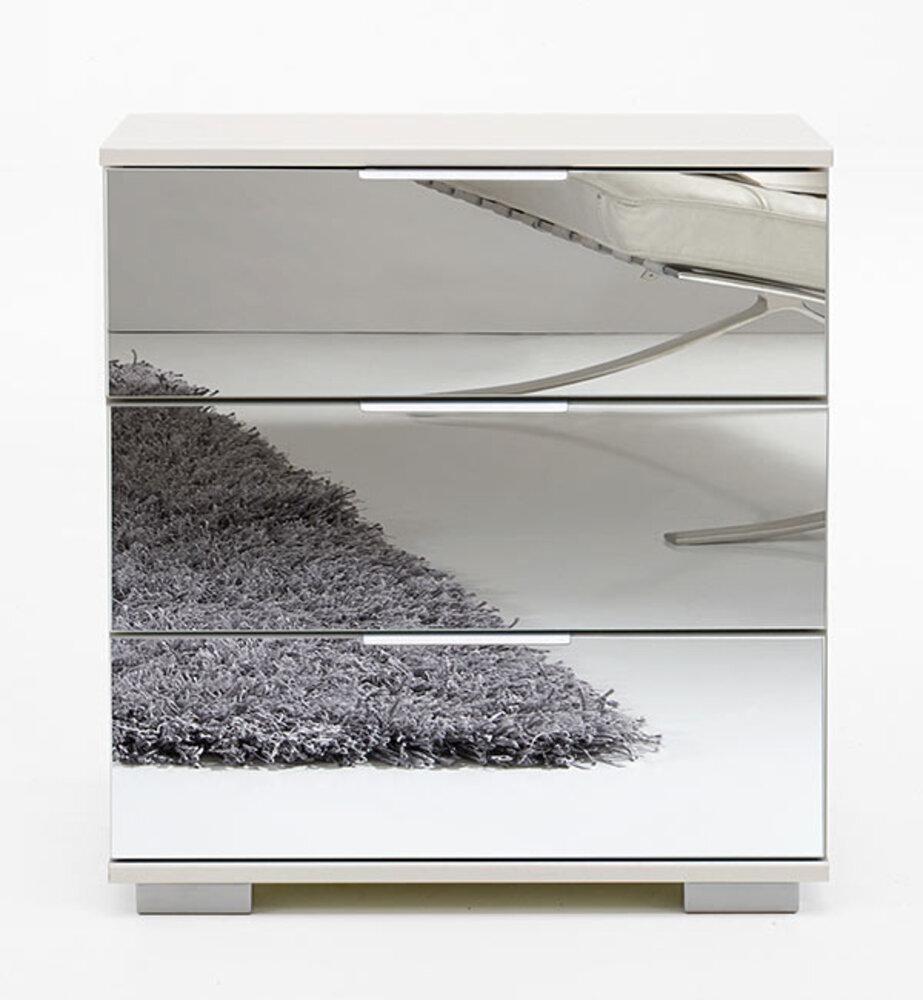 Table De Chevet Miroir Pas Cher chevet 3 tiroirs easy plus c