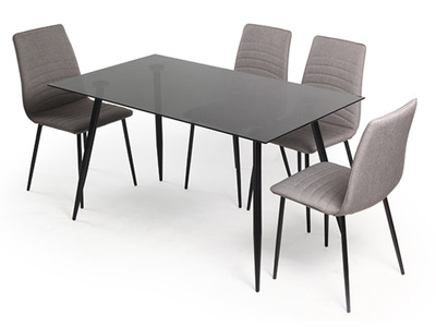 Table+ 4 chaises