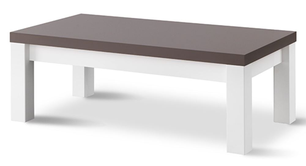 Table basse grise laquee maison design - Table basse grise laquee ...