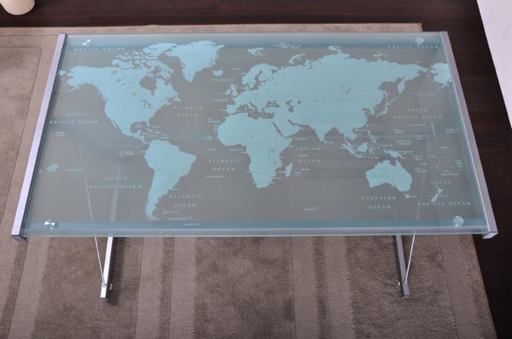 Bureau world - Plateau de verre bureau ...