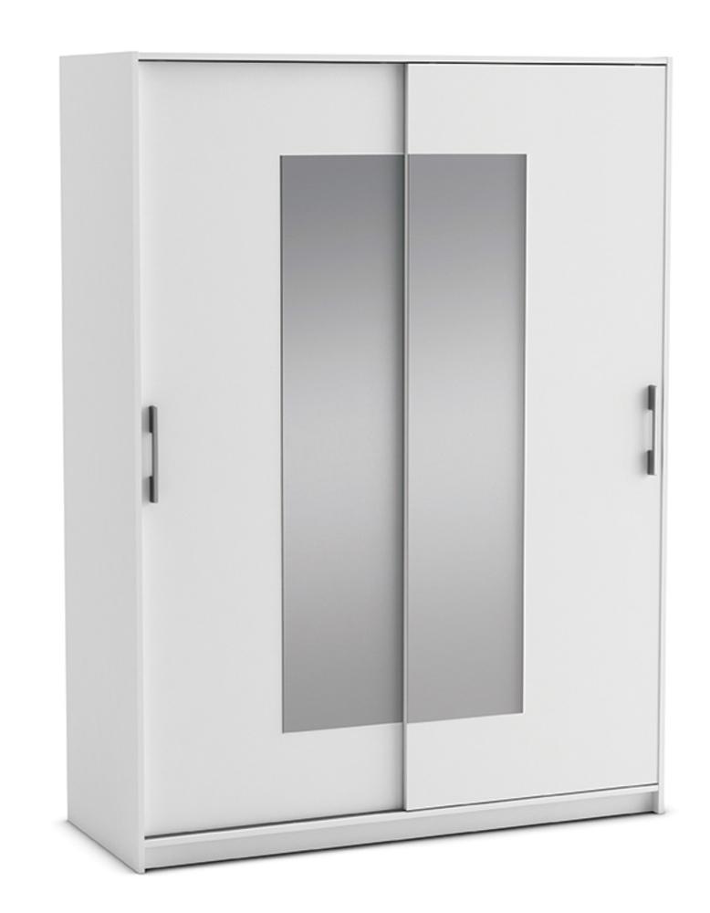 Armoire 2 Portes Cadix Blanc