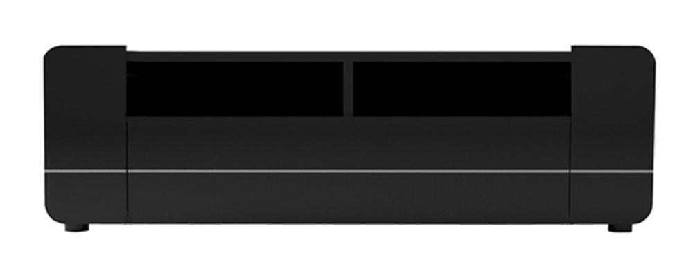 Meuble tv Bump laqué noir Noir brillant -> Meuble Sejour Noir Laque Alfa