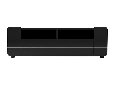Meuble tv Bump laqué noir