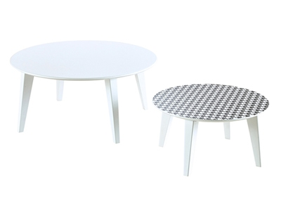Set de 2 tables basses Ronda