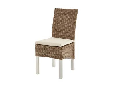 Chaise rotin