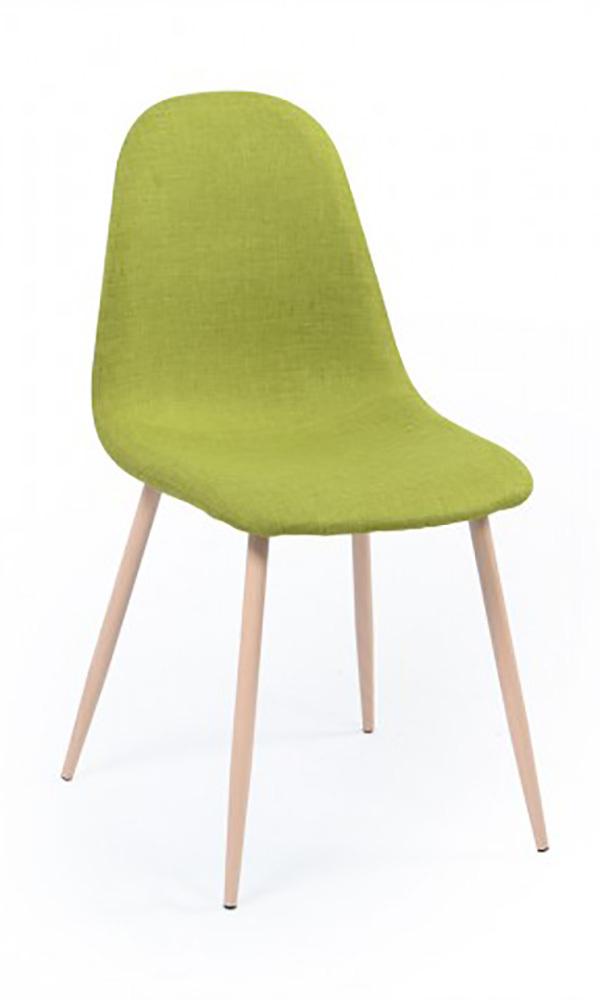 Chaise olsen vert anis for Chaise salle a manger vert anis