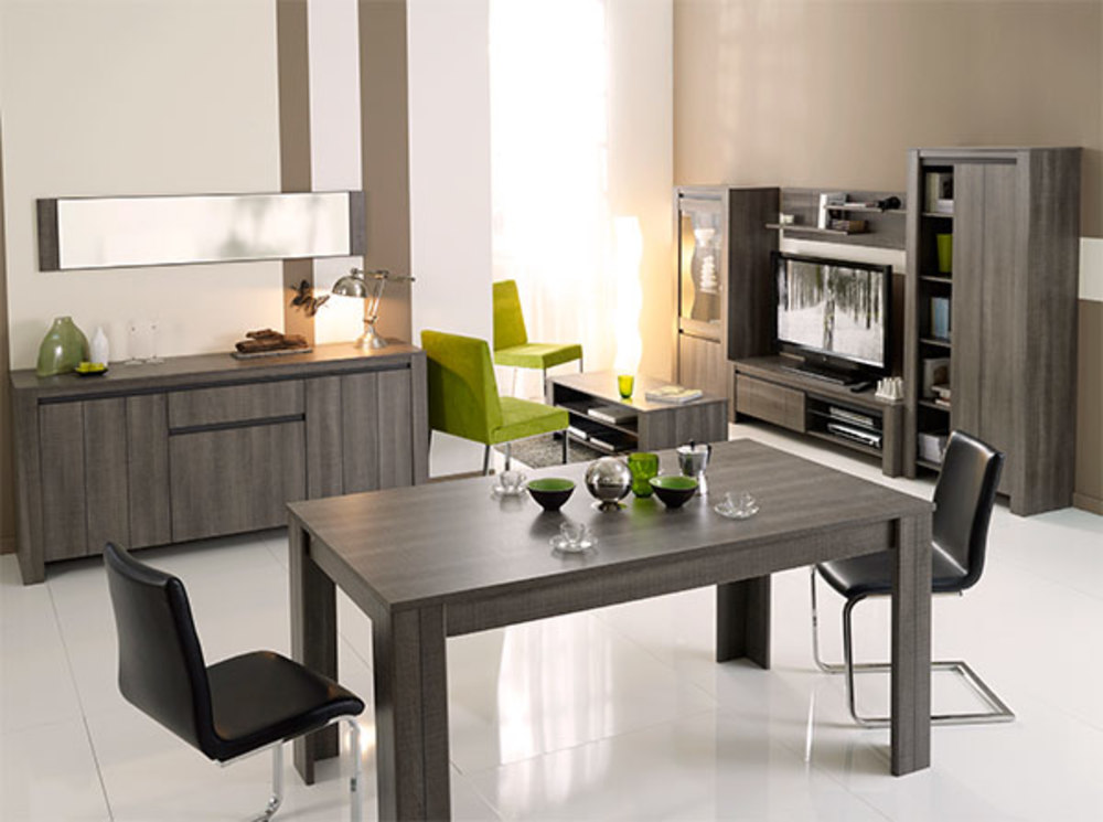 Table basse lana chene reglisse - Table basse ouvrable ...