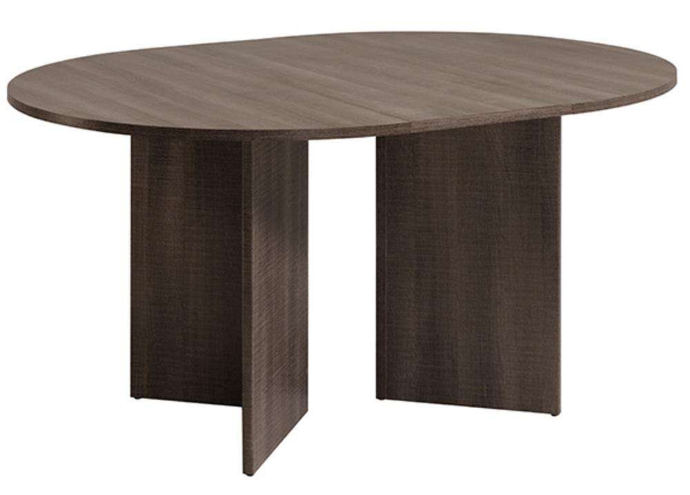 table de repas ronde lana chene reglisse. Black Bedroom Furniture Sets. Home Design Ideas