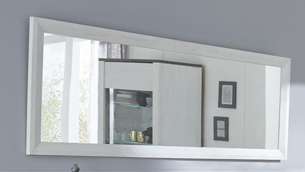 Miroir marquis lasur blanc for Miroir quadrilobe blanc
