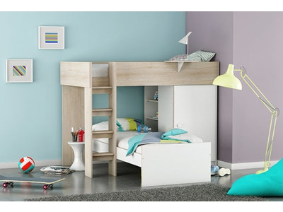lits mezzanine pour enfants et adultes pas chers. Black Bedroom Furniture Sets. Home Design Ideas