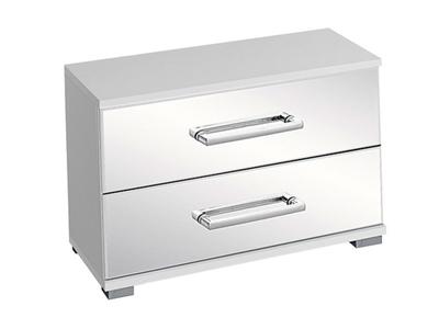 Chevet 2 tiroirs Moita