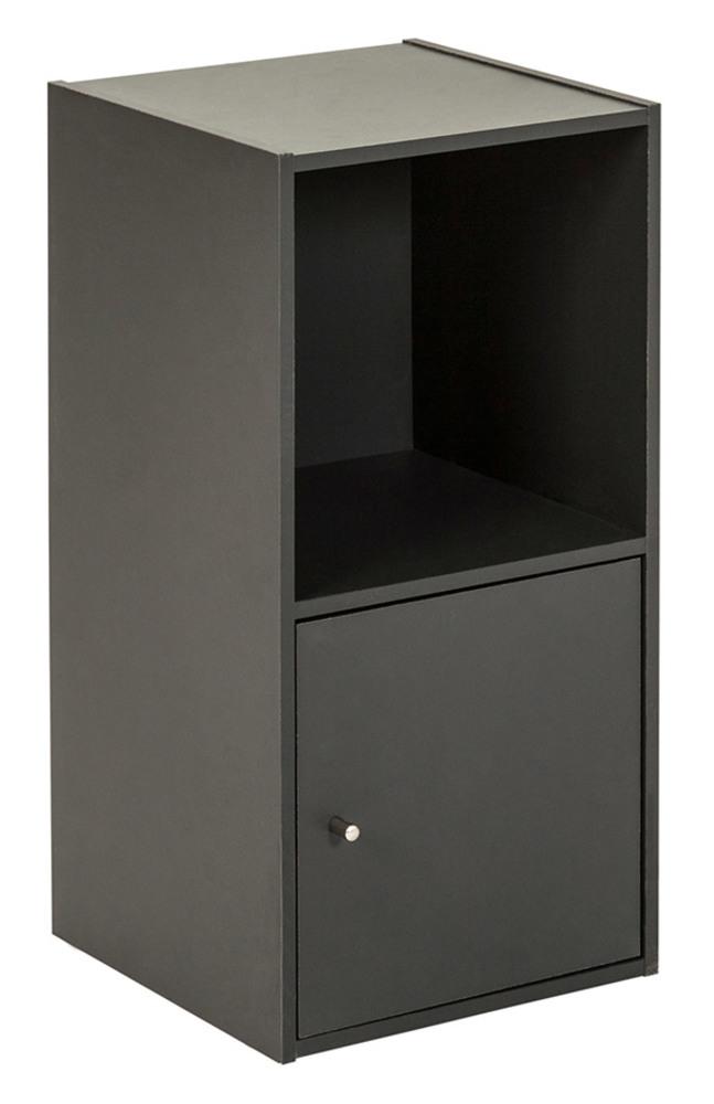 etag re 2 cases 1 porte optima gris anthracite. Black Bedroom Furniture Sets. Home Design Ideas