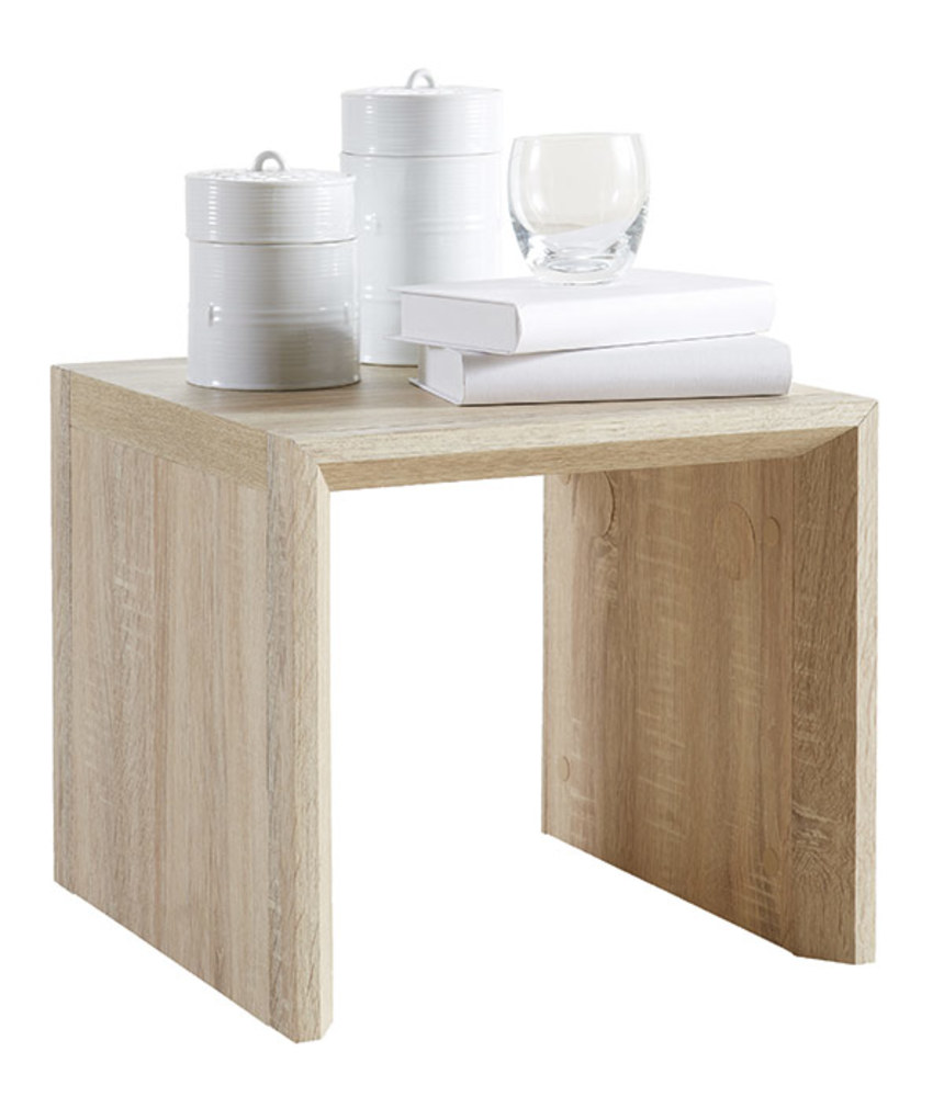 Table basse agudo chene brut for Table en chene brut