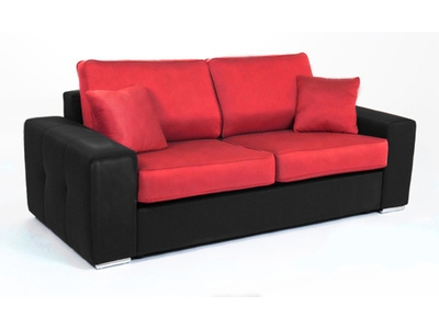 Canape convertible couchage 140 cm Cotton