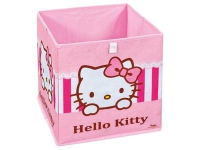 Panier pliable Hello kitty sweat pink