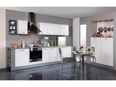 demi armoire four season blanc blanc mat. Black Bedroom Furniture Sets. Home Design Ideas