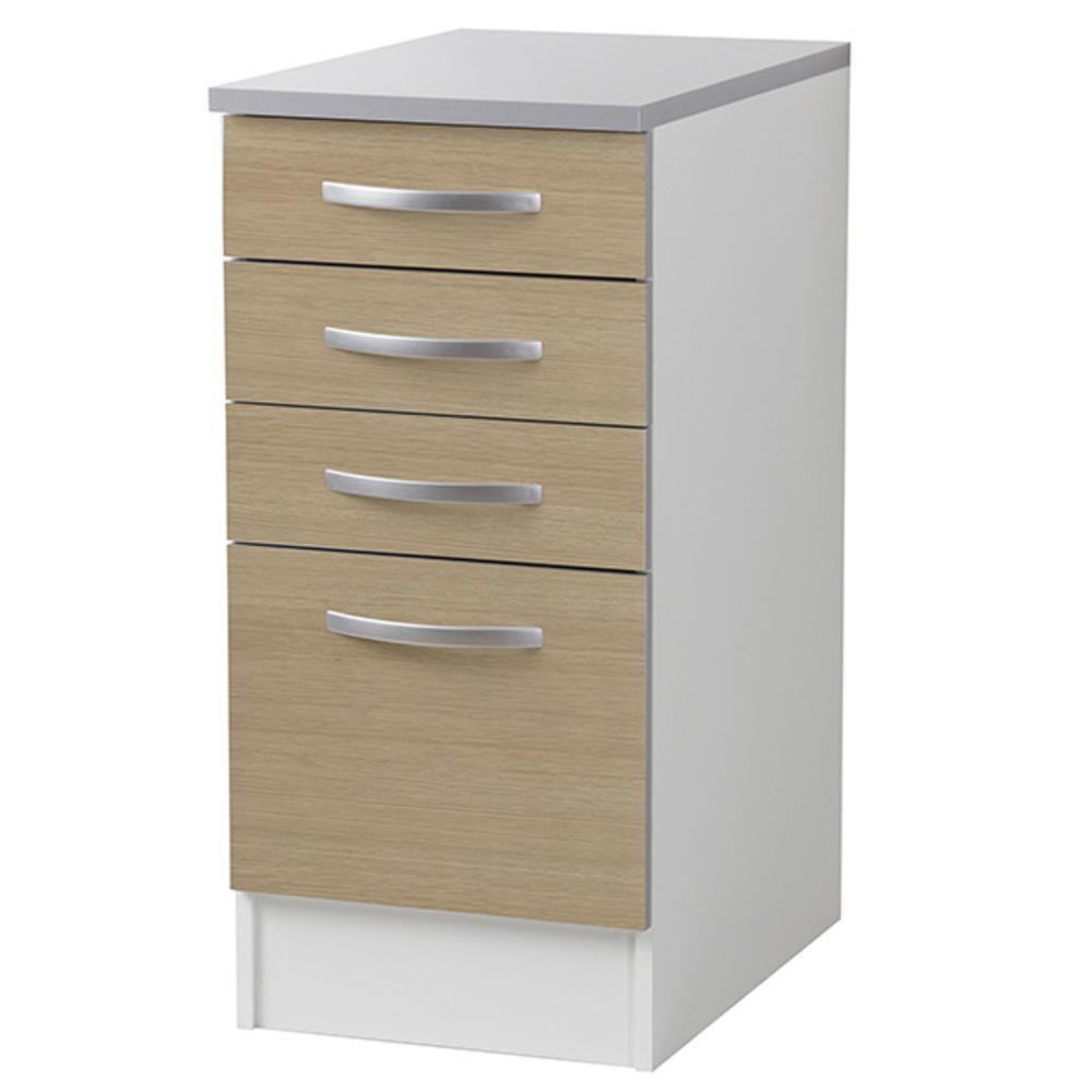 element bas 4 tiroirs season chene. Black Bedroom Furniture Sets. Home Design Ideas