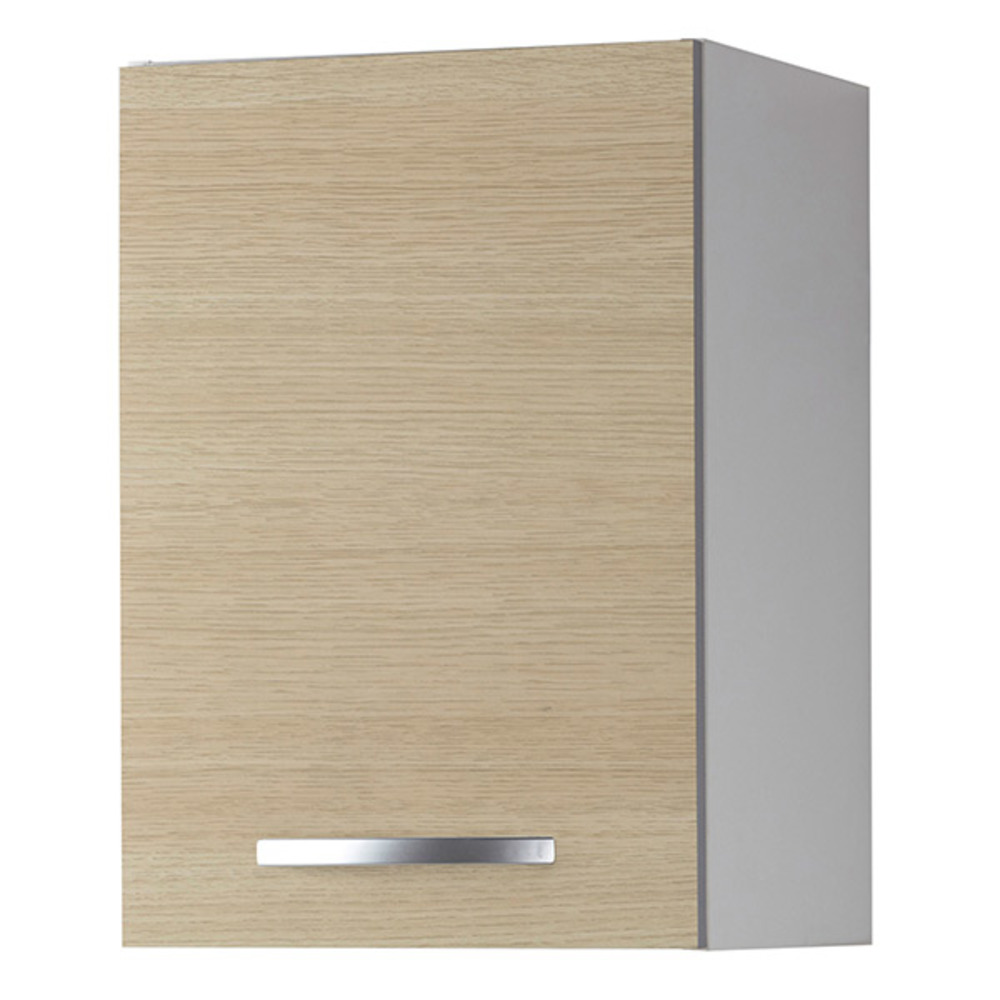Element haut 1 porte season chene for Porte element de cuisine