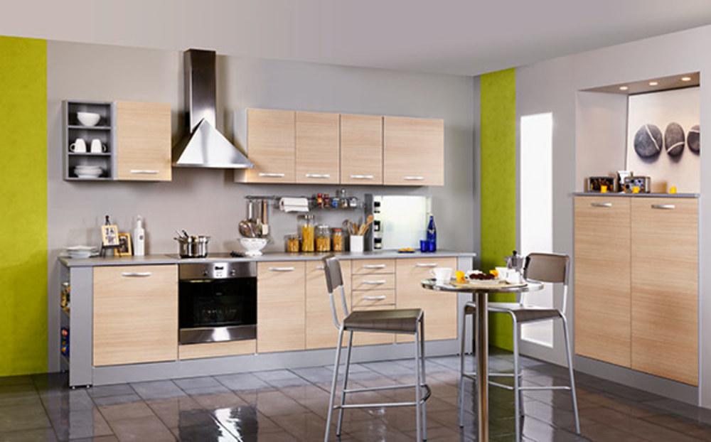 Element haut 1 porte season chene for Sol pour cuisine ouverte
