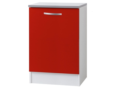 Element bas 1 porte Season rouge